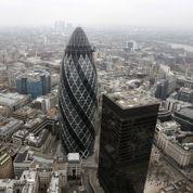 Emplois et bonus en hausse dans la City de Londres