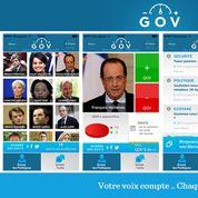 GOV, l'application pour noter les dirigeants politiques