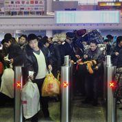 Marée humaine pour le Nouvel An en Chine