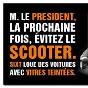 Sixt surfe sur l'affaire Hollande-Gayet
