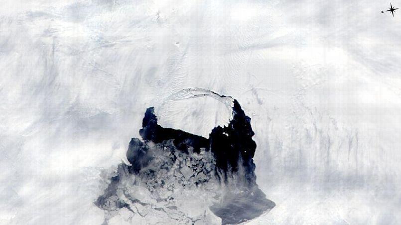 Antarctique: un glacier fond à toute allure