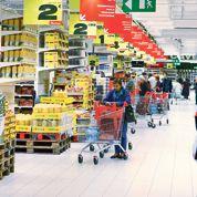 Rechute de la consommation dans les grandes surfaces