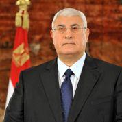 Mansour: «Les Égyptiens ne peuvent se révolter jusqu'à la nuit des temps»