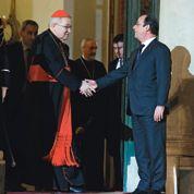 Hollande au Vatican avant la visite du Pape en France