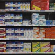 Les ventes de médicaments sans ordonnance reculent de 3%