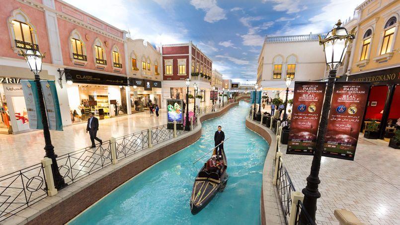 Le Villagio Mal, un des plus grands centres commerciaux de Doha, accueille le visiteur dans une ambiance vénitienne, dépaysement assuré!