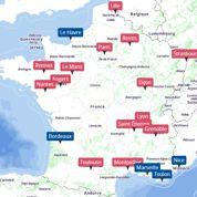 Municipales : la campagne dans les grandes villes