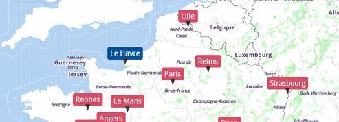 Municipales 2014 : la carte de la campagne dans les grandes villes