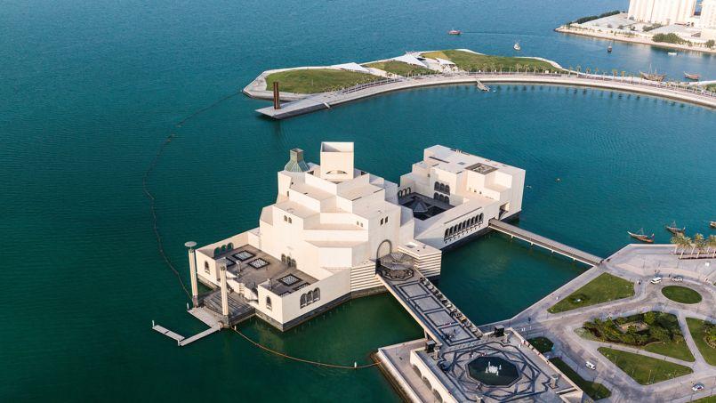 Le musée d'Art islamique, petit bijou conçu par l'architecte Ieoh Ming Pei, allie modernisme et moyen-orientalisme.