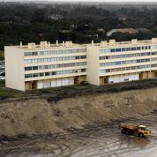 Menacé par l'érosion, un immeuble doit être évacué
