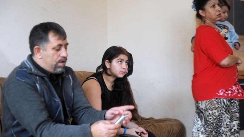 La famille Dibrani à Mitrovica, le 7 janvier.