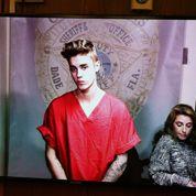 Justin Bieber au tribunal le jour de la Saint-Valentin