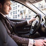 Uber, bête noire des taxis de Paris