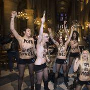 Monsieur le président, supprimez ce timbre à l'effigie d'une Femen !