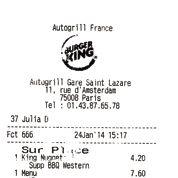 Burger King, snobisme de la loose