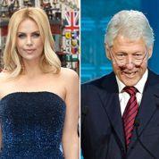 Charlize Theron, Clinton et Cameron aux galas des oscars