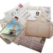 Théorie de la carte postale, message personnel