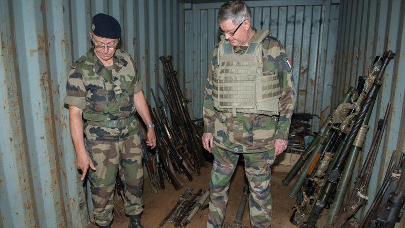 Centrafrique : le butin de l'armée française PHO86ba372e-8eef-11e3-9e60-27396627b8cc-805x453