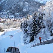 Osez le saut à ski chez Coline Mattel
