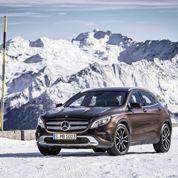 Mercedes GLA, la ClasseA reprend de la hauteur