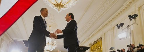 Hollande et Obama affichent une entente sans faille