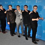 Clooney et Dujardin font la chenille à Berlin