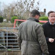 David Cameron malmené par la tempête du siècle