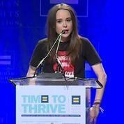 Ellen Page révèle courageusement son homosexualité