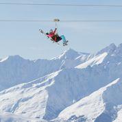 À Val-Thorens, la plus haute tyrolienne du monde