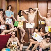 Tous à poil :des professionnels du livre nus en réponse à Copé