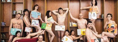 Tous à poil :des professionnels du livre posent nus en réponse à Copé