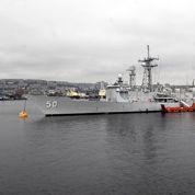 Envoyé pour sécuriser les JO, un navire de l'US Navy s'est échoué