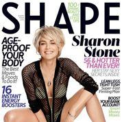 Sharon Stone affiche 56 printemps à fond la forme