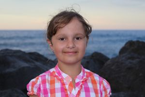 Eva Grosjean. Une page Facebook a été créée pour la soutenir ainsi que ses parents.