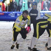 Le rugby sur neige, une spécialité savoyarde