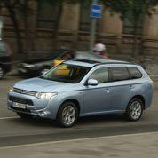 Mitsubishi Outlander PHEV, écologiquement correct