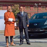 Le Bhoutan ne roulera qu'en voiture électrique