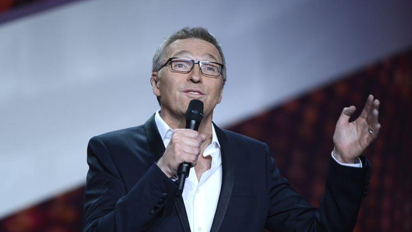 Le présentateur vedette lors des victoires de la musique en février 2013