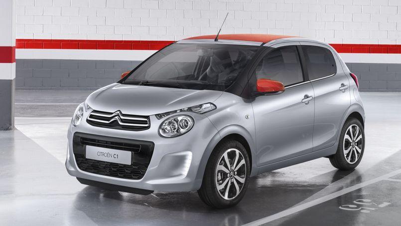 Citroën C1, à partir de 9 950 euros