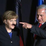 La «moustache» de Netanyahou à Angela Merkel