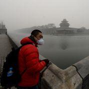 Le président chinois brave la pollution