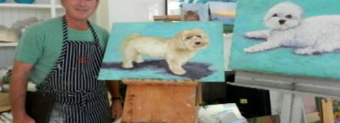 George W. Bush : le peintre du dimanche s'expose