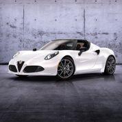 Alfa Romeo 4C, un Spider en approche