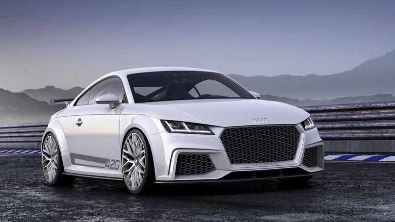 Audi TT Quattro Sport concept, le TT se dévergonde