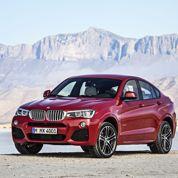BMW X4, un «baby» X6
