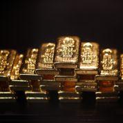 La chute de l'or plombe la Banque de Suisse
