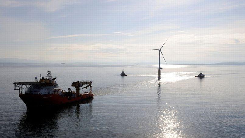 Energie : la piste des éoliennes flottantes