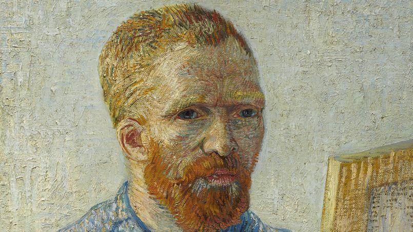 Portrait de l'artiste au chevalet © Amsterdam, Van Gogh Museum (Fondation Vincent van Gogh).