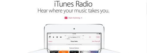 iTunes Radio dépasse Spotify aux États-Unis