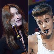 Bruni, Bieber, Noah... Les phrases choc de la semaine
